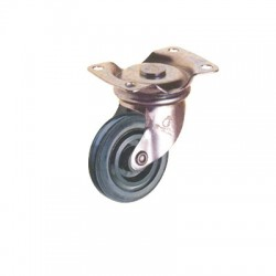 Rexello RD 1 series Castor with Rubber Wheel