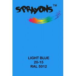 Sprayons Light Blue Spray Paint (Ral5012)