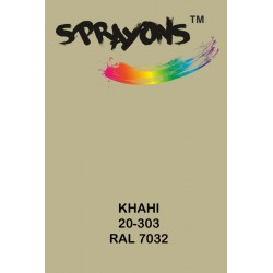 Sprayons Khaki Spray Paint (Ral7032)
