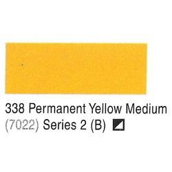 Camel Permanent Yellow Medium (7022) -338 Artists Acrylic Colour