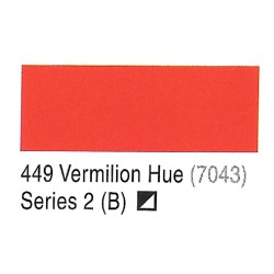 Camel Vermilion Hue(7043) - 449 Artists Acrylic Colour