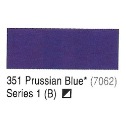 Camel Prussian Blue (7062) - 351 Artists Acrylic Colour