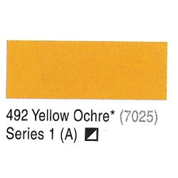 Camel Yellow Ochre(7025) - 492 Artists Acrylic Colour