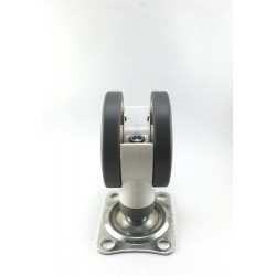 Rexello Double Wheel Hospital Castors