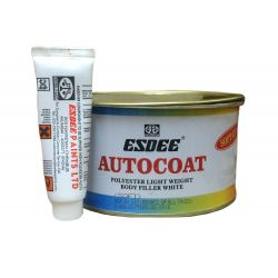Esdee Autocoat Polyester Light Weight Body Filler White