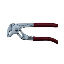 Ajay A-136 Water Pump Plier (Silver with Red Sleeve)