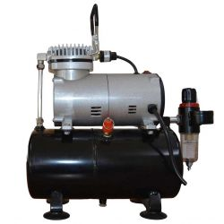 Noiseless Mini Air Compressor With Tank