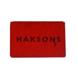 Haksons Glass Colours -Red -30ml