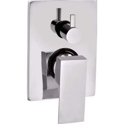 Tresco Quattro Single Lever High Flow Concealed Diverter