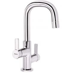 Tresco Arctic One Hole Basin Mixer