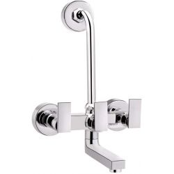 Tresco Pacific Wall Mixer 2 In 1 With Bend