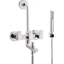 Tresco Pacific Wall Mixer 3 In 1 With Bend