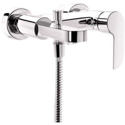 Tresco Oracle Single Lever Wall Mixer With Button