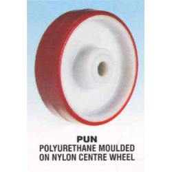 Rexello RD 2 Castor with Polyurethane Moulded on Nylon Wheel