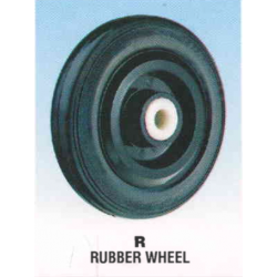 Rexello RD 3 Castor with Rubber Wheel