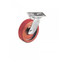 Rexello MRN Series 2 Polyurethane Tyred Cast Iron Wheel