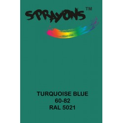 Sprayons Turquise Blue (RAl5021) Spray Paint