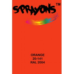 Sprayons Orange Spray Paint (Ral2004)