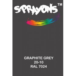 Sprayons Graphite Grey Spray Paint (Ral7024)