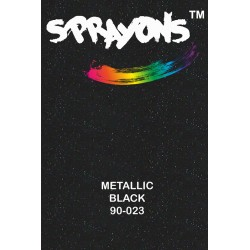 Sprayons Metallic Black Spray Paint