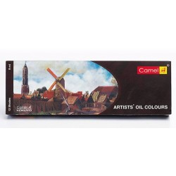 Camel Artists' Oil Colour 12 Assorted Colours Set (9ml Tubes)