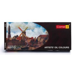 Camel Artists' Oil Colour 12 Assorted Colours Set (20ml Tubes)