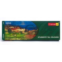 Camel Student's Oil Colour 12 Assorted Colours Set (9ml Tubes)