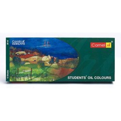 Camel Student's Oil Colour 12 Assorted Colours Set (20ml Tubes)