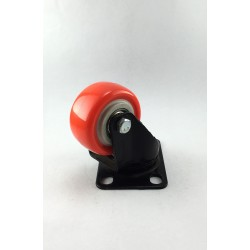 Rexello Furniture Castors with Anti-Static PU Bonded Wheels