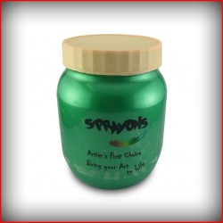 Sprayons Pearl Colours-Parrot Green