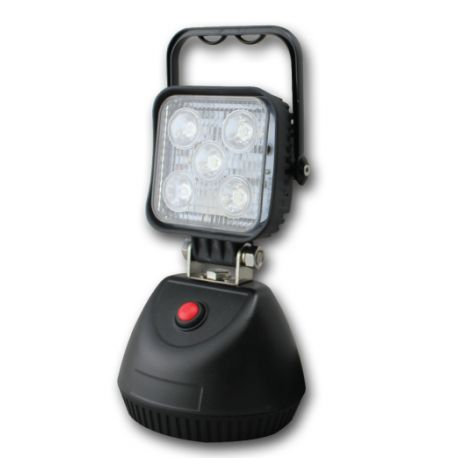 Groz LED 15W Rechargeable Site Lamp