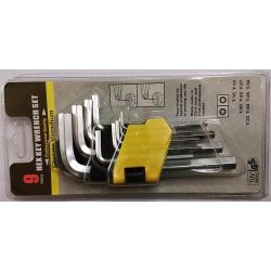 ATC Allen Key Set (Hex type) 1.5 to 10mm