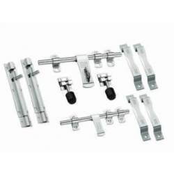 MB Single Steel Door Sets - 3 mm Diamond 6 Piece Set