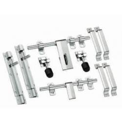 MB Single Steel Door Sets - 3 mm Wave  6 Piece Set