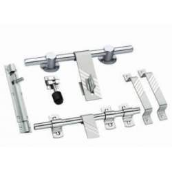 MB Double Steel Door Sets - 3 mm Zebra 10 Piece Set