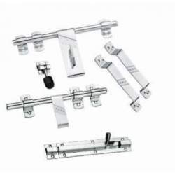 MB Single Steel Door Sets - 3 mm Heavy DIAMOND 6 Piece Set