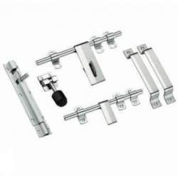 MB Single Steel Door Sets - 3 mm Heavy Zebra 6 Piece Set
