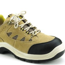 UDYOGI Safety Shoe Steel Toe with PU Sole-Edge Honey(Sports-C)