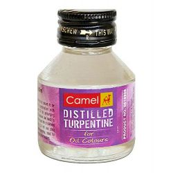 Camel Distilled Turpentine 60ml