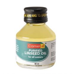 Camel Purified Linseed Oil 60ml