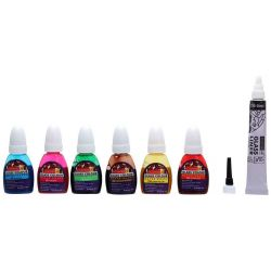 Camel Water Based Ready-to-Use Glass Colours (10ml)