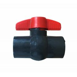 Prince PVC Ball Valve Compact Type (1 piece body)