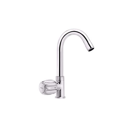 Tresco Crown Swan Neck With Swivel Spout – Basin Mounted