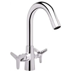 Tresco Tres One Hole Basin Mixer