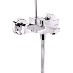 Tresco Nova Single Lever Wall Mixer With Button