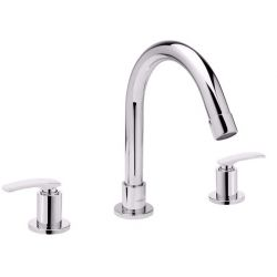 Tresco Forte Three Hole Basin Mixer