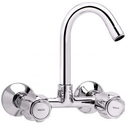Tresco Crown Sink Mixer With Swivel Spout