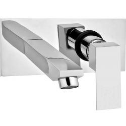 Tresco Quattro Wall Mounted Single Lever Basin Mixer