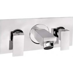 Tresco Quattro Two Concealed Stop Valves With Spout