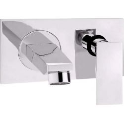 Tresco Pacific Wall Mounted Single Lever Basin Mixer